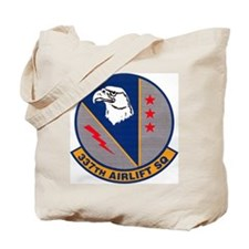 337th Airlift Squadron Tote Bag