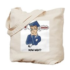 Funny Grad Tote Bag