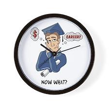 Funny Grad Wall Clock