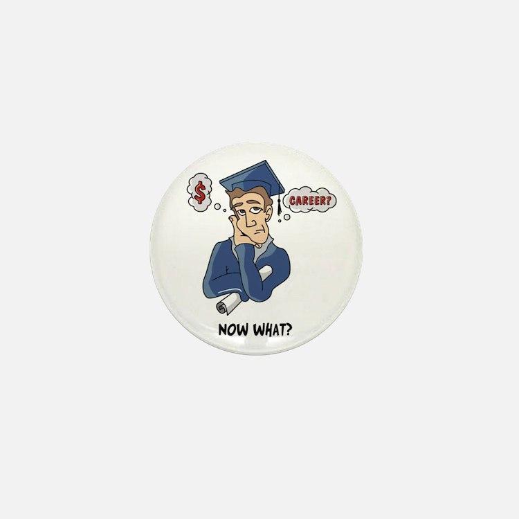 Funny Grad Mini Button