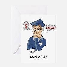 Funny Grad Greeting Card