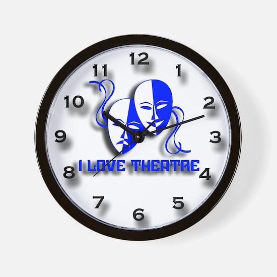 Love Theatre Wall Clock