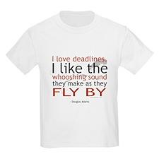 """""""I love deadlines ..."""" Kids T-Shirt"""