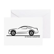 New Ford Mustang Fastback Greeting Cards (Pk of 20