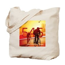 545 Miles To End Aids - Tote Bag