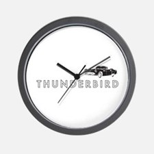 1955 Ford Thunderbird Wall Clock