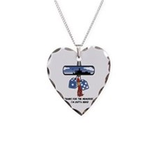 Thanks for the Memories Necklace Heart Charm