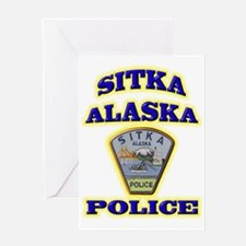 Sitka Police Department Greeting Card