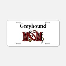 Greyhound Mom Gifts Aluminum License Plate