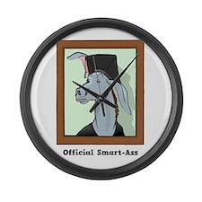 Official Smart Ass Large Wall Clock