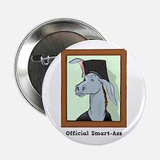"""Official Smart Ass 2.25"""" Button (10 pack)"""