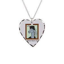 Official Smart Ass Necklace Heart Charm