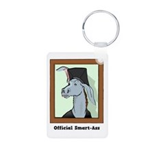 Official Smart Ass Aluminum Photo Keychain