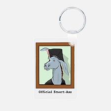 Official Smart Ass Aluminum Photo Keychain