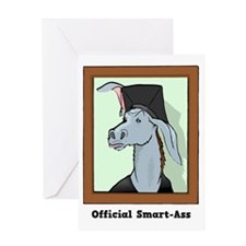 Official Smart Ass Greeting Card