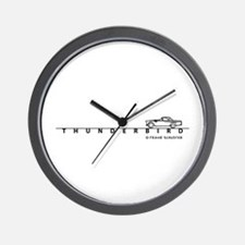 1955 Ford Thunderbird w Type Wall Clock