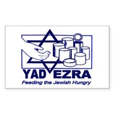 Kosher Food Pantry Rectangle Decal
