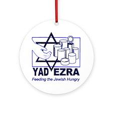 Yad Ezra - Kosher Food Pantry Ornament (Round)