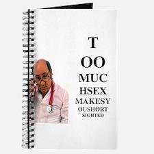 too much sex Journal