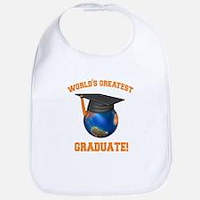 World's Greatest Graduate Bib