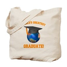World's Greatest Graduate Tote Bag