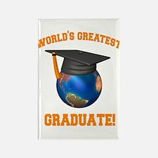 World's Greatest Graduate Rectangle Magnet