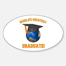 World's Greatest Graduate Decal