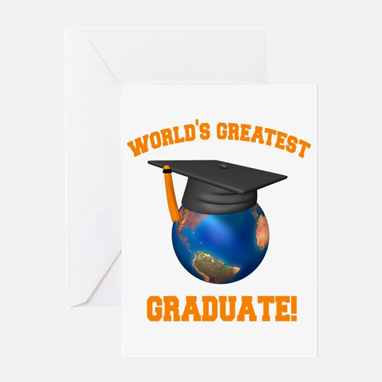 World's Greatest Graduate Greeting Card