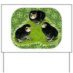 Baby Chicks in the Garden Yard Sign