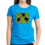 Baby Chicks in the Garden Women's Dark T-Shirt