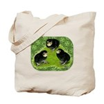Baby Chicks in the Garden Tote Bag