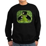 Baby Chicks in the Garden Sweatshirt (dark)