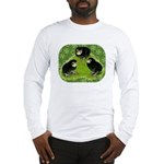 Baby Chicks in the Garden Long Sleeve T-Shirt