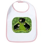 Baby Chicks in the Garden Bib