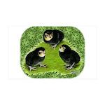 Baby Chicks in the Garden 38.5 x 24.5 Wall Peel