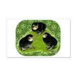 Baby Chicks in the Garden 22x14 Wall Peel