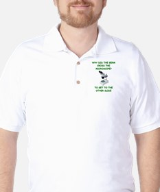 biology joke Golf Shirt