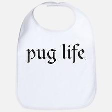 Pug Life Basic Bib