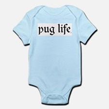 Pug Life Basic Infant Bodysuit