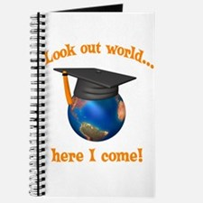 Look Out World Here I Come Journal