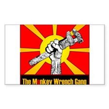The Monkey Wrench Gang Decal