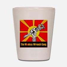 The Monkey Wrench Gang Shot Glass