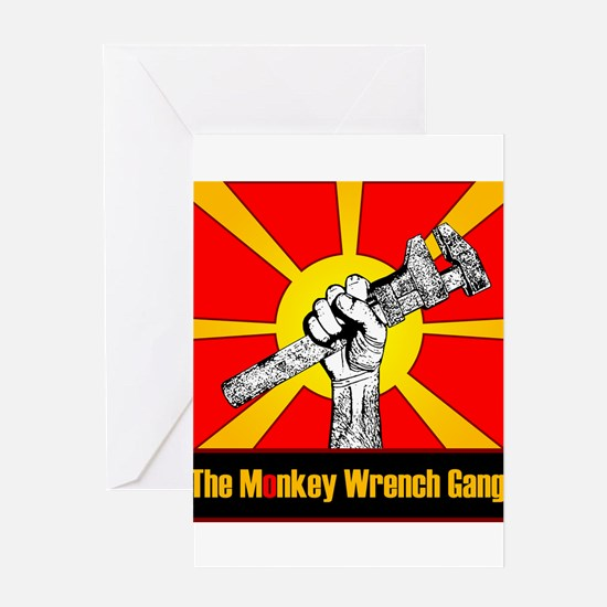 The Monkey Wrench Gang Greeting Card