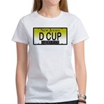D Cup NJ Vanity Plate Women's T-Shirt