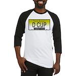 D Cup NJ Vanity Plate Baseball Jersey
