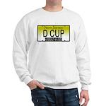 D Cup NJ Vanity Plate Sweatshirt