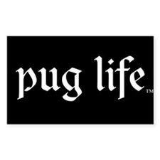 Pug Life Basic Decal