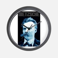 Nietzsche Wall Clock