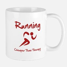 Running Cheaper Than Therapy! Mug