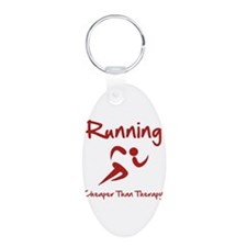 Running Cheaper Than Therapy! Keychains